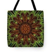 Copper Jewel Tote Bag