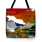 Copper Lake Tote Bag