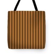 Copper Orange Striped Pattern Design Tote Bag