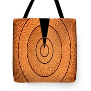 Copper Panel Abstract Tote Bag