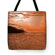 Copper Plate Sunrise Tote Bag