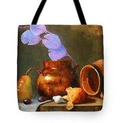 Copper Pot With Clay Pot  Tote Bag