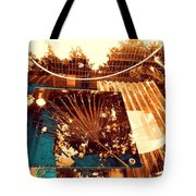 Copper Reflections Tote Bag