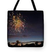 Copper Splash Tote Bag