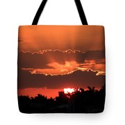 Copper Sunset Tote Bag
