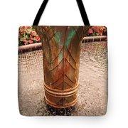 Copper Water Fountain Tote Bag