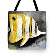 Copperband Butterflyfish  Tote Bag