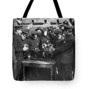 Cops Learn Motorcycle Engines Tote Bag