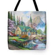 copy of Dogwood Chapel Tote Bag