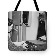 Copying Archival Documents Tote Bag