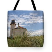 Coquille Lighthouse H Tote Bag