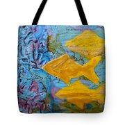 Coral Chorale Tote Bag