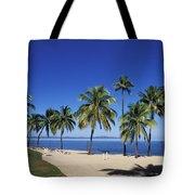 Coral Coast Palms Tote Bag