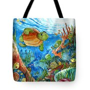 Coral Dreams Tote Bag