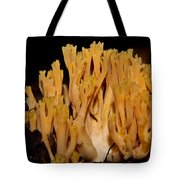 Coral Fungi In The Forest Tote Bag