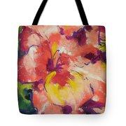 Coral Glad Tote Bag