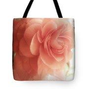 Peach Petals Glow Tote Bag