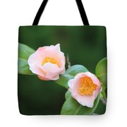 Coral Camellia 2 Tote Bag