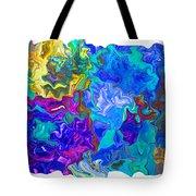 Coral Reef Fantasy Tote Bag
