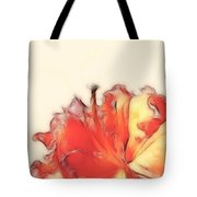 Coral Rhododendron Tote Bag by Lynn Bolt