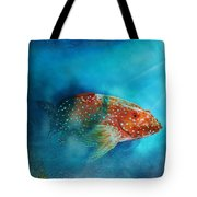 Coral Trout Tote Bag