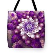 Coraled Blooms Tote Bag