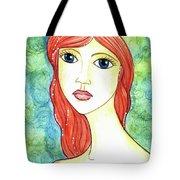 Coralia, The Mermaid Tote Bag