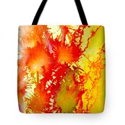 Corals In Sunrise  Tote Bag
