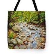 Coranderrk Creek Yarra Ranges Tote Bag