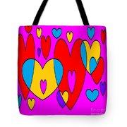 Corazones Tote Bag