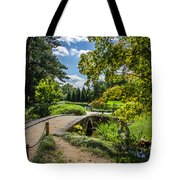 Corbel Arch Bridge Japanese Garden Maymont Tote Bag