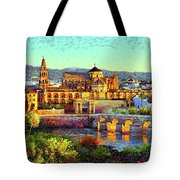 Cordoba Mosque Cathedral Mezquita Tote Bag
