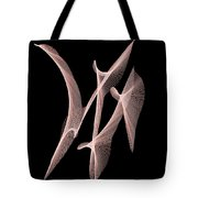 Choreography Of Feathers Tote Bag