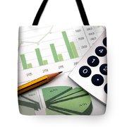 Corey Rockafeler - Business Painting Tote Bag