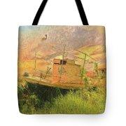 Corfu 25 High And Dry Tote Bag