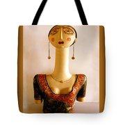Corfu Lady Tote Bag