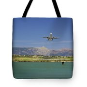 Corfu Take Off  Tote Bag