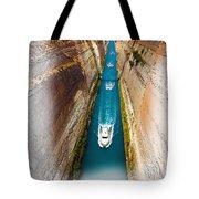 Corinth Canal  Tote Bag