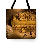 Cork And Basket 3 Tote Bag