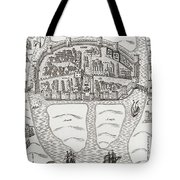 Cork, County Cork, Ireland In 1633 Tote Bag