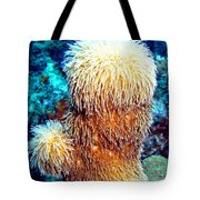 Corky Sea Finger Coral - The Muppet Of The Deep Tote Bag