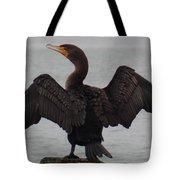 Cormorant In Bellingham Tote Bag
