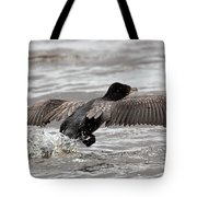Cormorant Taking To The Air Tote Bag
