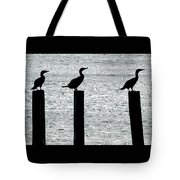 Cormorants Port Jefferson New York Tote Bag