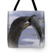 Cormorant's Whopper Dive Catch Tote Bag