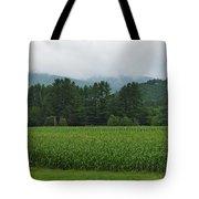 Corn Among The Mountains Tote Bag