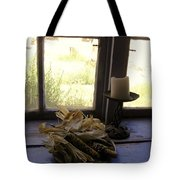 Corn And Candle Tote Bag