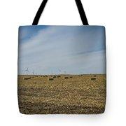 Corn Bales Tote Bag