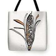 corn- contemporary art by Linda Woods Tote Bag