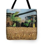 Corn Harvest Tote Bag